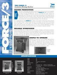 Intec Force 3 Brochure