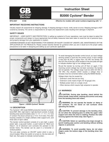 gb cyclone bender wiring diagram wiring diagrams schemaconduit gb cyclone bender wiring diagram