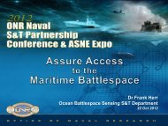 Assure Access to the Maritime Battlespace - Defense Innovation ...