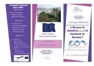 Calabria …. e la Calabria in Europa ? - Scuola Media Caloprese