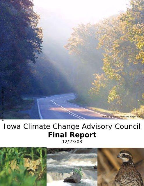 Iowa Climate Change Advisory Council Final Report