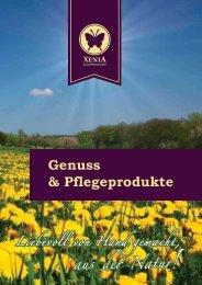 Genuss & Pflegeprodukte - Xenia Naturprodukte