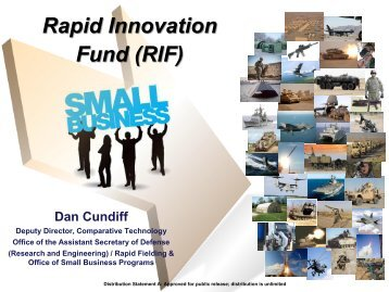 Rapid Innovation Fund (RIF) - Defense Innovation Marketplace