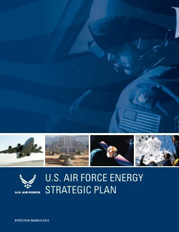 U.S. Air Force energy STrATegic PLAn - Defense Innovation ...