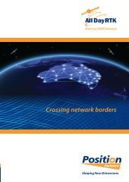 Crossing network borders - Position Partners