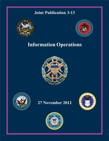 JP 3-13, Information Operations - Defense Innovation Marketplace