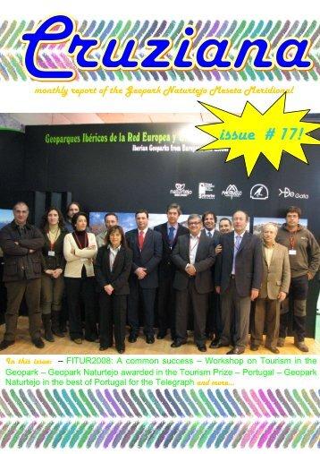 monthly report of the Geopark Naturtejo Meseta Meridional issue # 17!