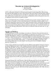 Rosenius og verdensrettferdiggjørelse Del II af III - Lyd i Natten