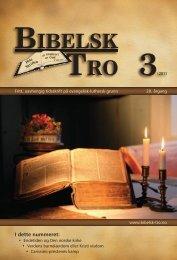 bibelsk tro 3 - Lyd i Natten