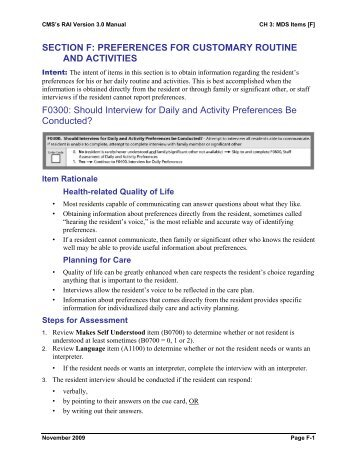 MDS 3.0 Form Quarterly - Re-Creative Resources, Inc