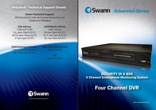 Four Channel DVR - ShowUhow