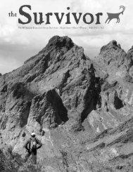 Fall 2012, Volume 31.2 - Desert Survivors