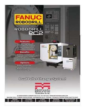 Robodrill Dseries-PC2 Brochure.indd - Methods Machine Tools