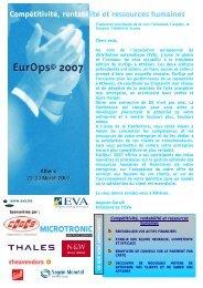 Compétitivité, rentabilité et ressources humaines - European ...