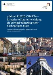 5 Jahre LEIPZIG CHARTA - Nationale Stadtentwicklungspolitik