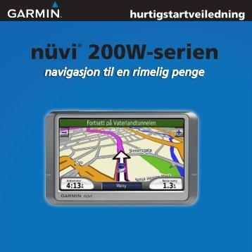 nüvi® 200W-serien - Garmin
