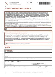 Oleskelulupahakemus muulle omaiselle - Maahanmuuttovirasto