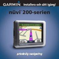 nüvi® 200-serien - Garmin