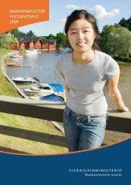 MaahanMuuton vuosikatsaus 2009 - Maahanmuuttovirasto