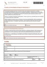 Oleskelulupahakemus opiskelun perusteella - Maahanmuuttovirasto