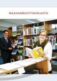Kirjastoesite - Maahanmuuttovirasto