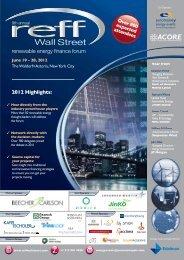 renewable energy finance forum - American Council On Renewable ...