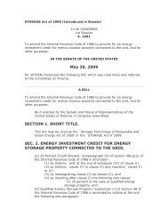 May 20, 2009 SECTION 1. SHORT TITLE. SEC. 2. ENERGY ...
