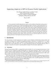 Supporting Adaptivity in MPI for Dynamic Parallel Applications