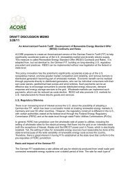 draft discussion memo 3/28/11 - American Council On Renewable ...