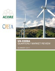 Summer 2011 US-China Quarterly Market Review - American ...