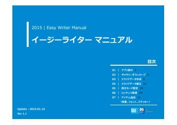 Easy Writer APP Manual