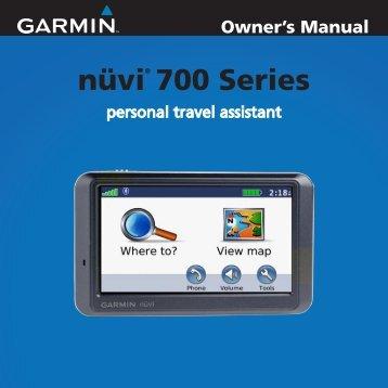 nüvi® 700 Series - Garmin