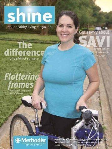 Dallas Shine magazine – Summer 2011 - Methodist Health System
