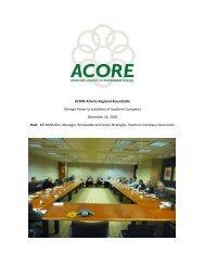 ACORE Atlanta Regional Roundtable - American Council On ...