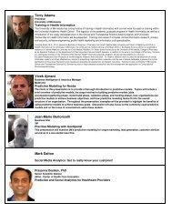 Handout 2 - Minnesota Analytics Forum