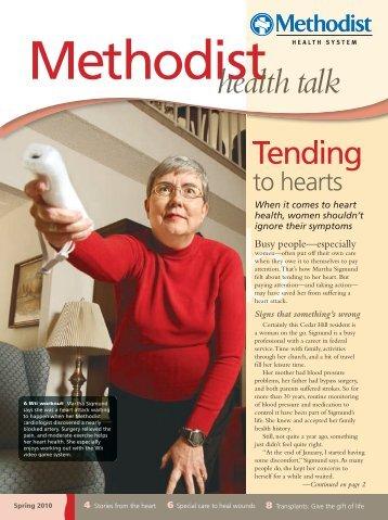When it comes to heart health, women shouldn - Methodist Health ...