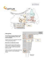 Directions to the Airport from Optum Campus