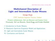 Multichannel calculation of light and intermediate scalar ... - Index of
