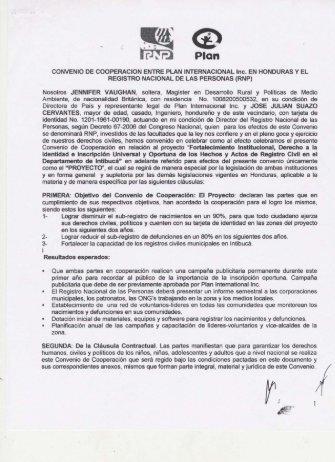 REGISTRO NACIONAL DE LAS PERSONAS (RNP)