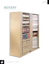 Rotary Storage Brochure - Spacesaver Solutions Inc.