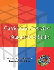 Curriculum & Overview - You CAN Do the Rubik's Cube!