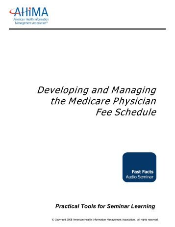CMS Publishes the 2012 Physician Fee Schedule Final Rule