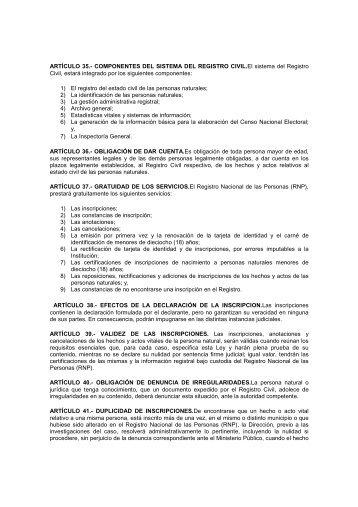 Capitulo-I-sistema-d.. - Registro Nacional de las Personas