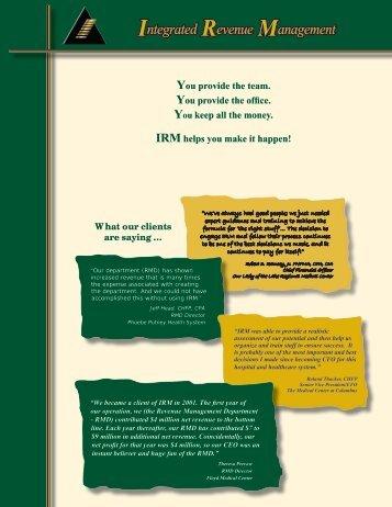Brochure 5 - CentraMed