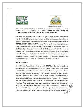 convenio-rnp-y-la-al.. - Registro Nacional de las Personas