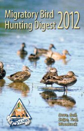 Migratory Bird Hunting Digest - Missouri Department of Conservation