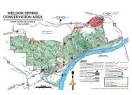Weldon Spring Conservation Area Map - Missouri Department of ...