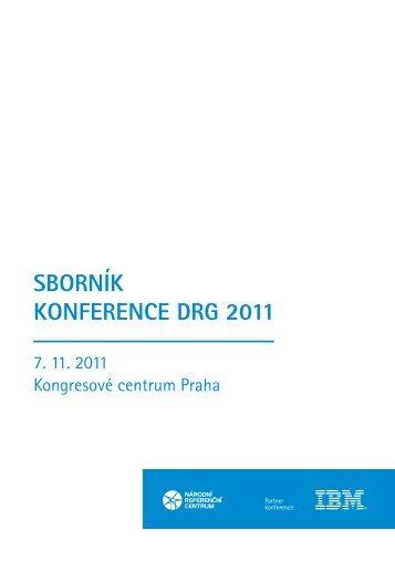 Sborník konference DrG 2011 - Národní referenční centrum