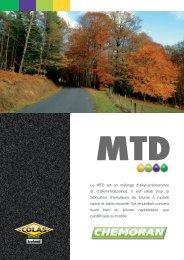 Le MTD est un mélange d'alkyl-amidoamines et d'alkyl ... - Chemoran