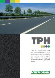 TPH is a concentrated mix of alkyl-amidoamines and ... - Chemoran